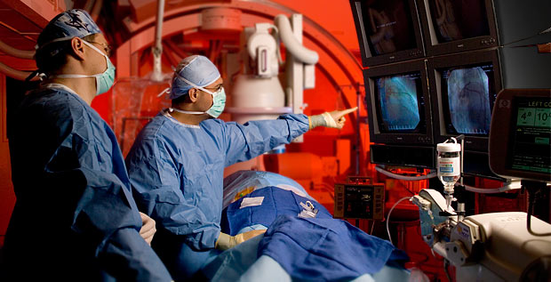 Oklahoma Heart Institute Cardiac Catheter Procedure