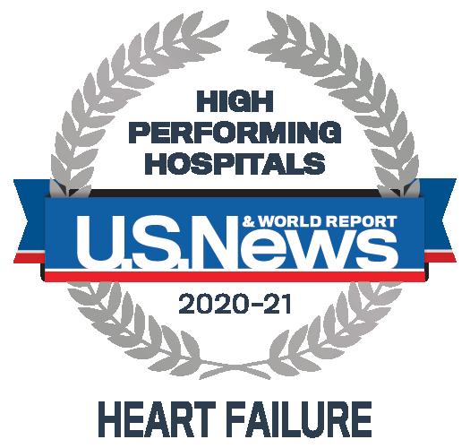 High Performing Indicator Heartfailure US News